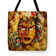 The Golden Goddess Tote Bag