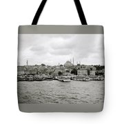 The Golden Horn Tote Bag