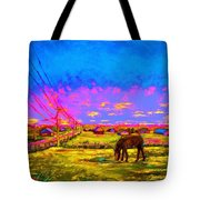 The Golden Meadow Tote Bag