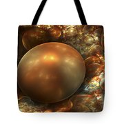 The Golden Nest Tote Bag