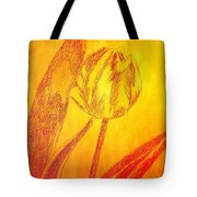 The Golden Tulip Tote Bag