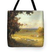 The Golden Valley Tote Bag by Sir Alfred East