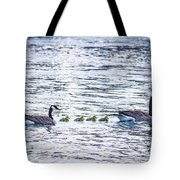 The Goose Family Tote Bag