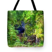 The Gorge In The Wood Tote Bag