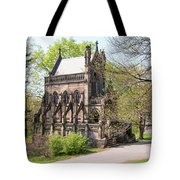 The Gothic Temple In Spring Grove Cemetery Tote Bag