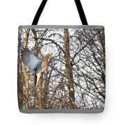 The Graceful Mourning Dove In-flight Tote Bag