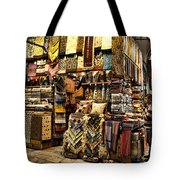 The Grand Bazaar In Istanbul Turkey Tote Bag by David Smith