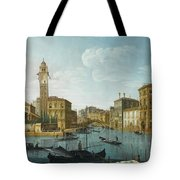 The Grand Canal At The Entrance Tote Bag