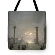 The Grand Canal From Piazza San Marco Tote Bag