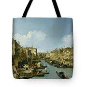 The Grand Canal Near The Rialto Bridge. Venice Tote Bag