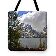 The Grand Tetons And The Lake Tote Bag