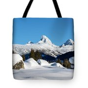 The  Grand Tetons From Alta Wyoming Tote Bag