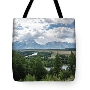 The Grand Tetons Tote Bag by Margaret Pitcher