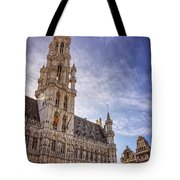 The Grandeur Of The Grand Place Brussels  Tote Bag