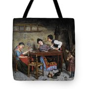 The Grandmother Is Buckled Tote Bag