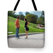 The Graves Of Robert F. Kennedy And Edward M. Kennedy -- Bobby And Ted Tote Bag