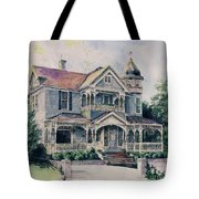The Gray Lady Tote Bag