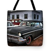The Greaser's Ghost Tote Bag by John De Bord