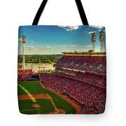 The Great American Ball Park - Cincinnati Tote Bag