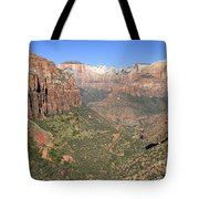 The Great Canyon Of Zion Tote Bag