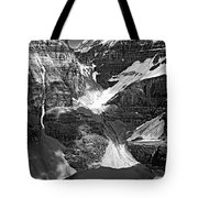 The Great Divide Bw Tote Bag