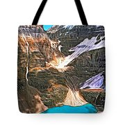 The Great Divide - Paint Tote Bag