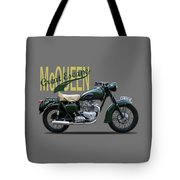 The Great Escape Motorcycle Tote Bag