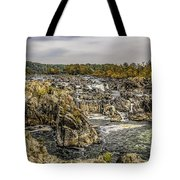 The Great Falls Of The Potomac Tote Bag