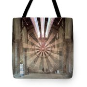 The Great Hall, Winchester Castle, Hampshire Zoom Burst Tote Bag