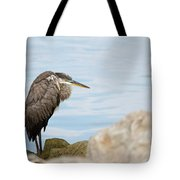 The Great Old Heron Tote Bag