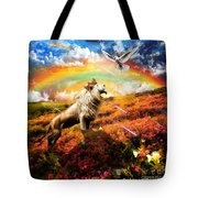 The Great Out Pouring  Tote Bag