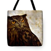 The Great Owl Tote Bag