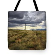 The Great Plains Of New Mexico Tote Bag