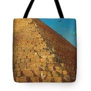 The Great Pyramid. Giza Tote Bag