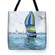 The Great Race 06 Tote Bag