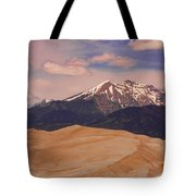 The Great Sand Dunes And Sangre De Cristo Mountains Tote Bag