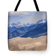 The Great Sand Dunes Color Print 45 Tote Bag