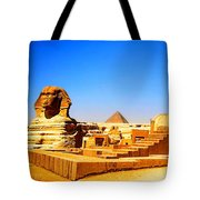 The Great Sphinx Of Giza Tote Bag