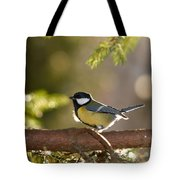 The Great Tit   Tote Bag