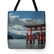 The Great Torii Tote Bag