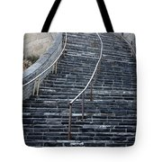 The Great Wall Steps Tote Bag