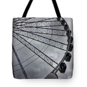 The Great Wheel Tote Bag