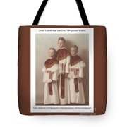 The Greatest Is Love Tote Bag