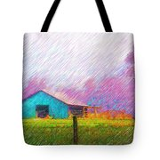The Green Barn Tote Bag