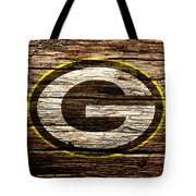 The Green Bay Packers 1b Tote Bag
