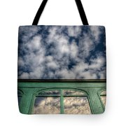 The Green Carriage Tote Bag