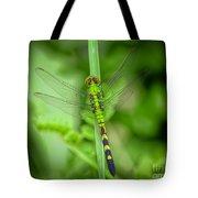 The Green Dragon Tote Bag