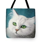 The Green Eyed Vamp Tote Bag
