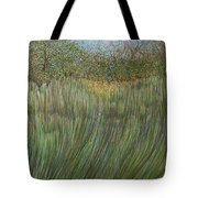 The Green Field Tote Bag