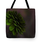 The Green Flower Tote Bag